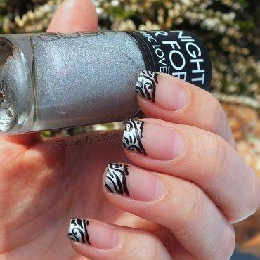Acrylic Lace nail art by Suzi - Beauty by Suzi