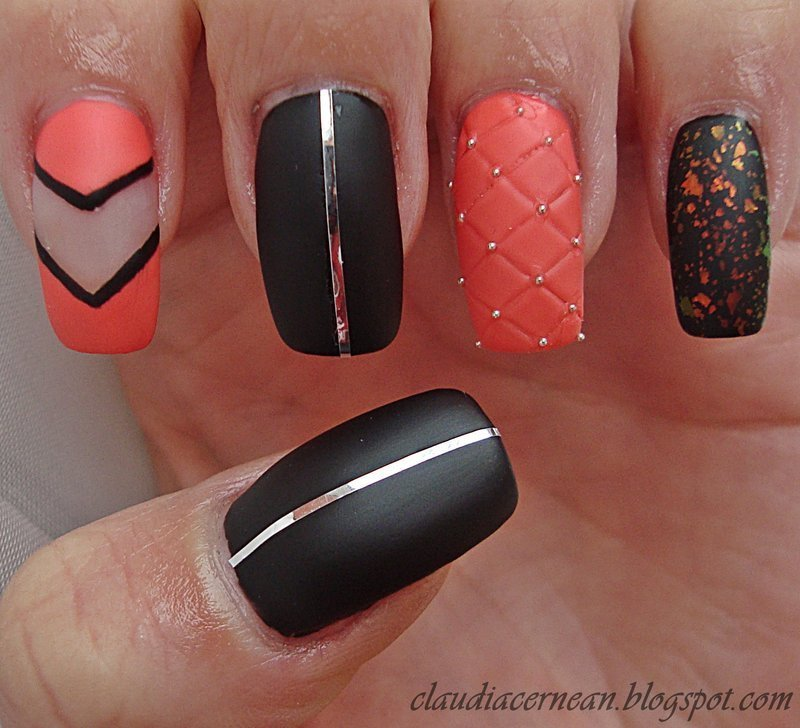 Quilted Nails Nail Art By Claudia Nailpolis Museum Of Nail Art