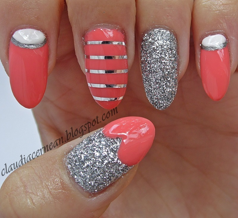 Coral Nails nail art by Claudia - Nailpolis: Museum of Nail Art