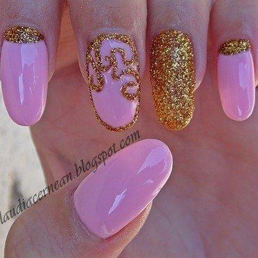 Pale Pink Nails nail art by Claudia