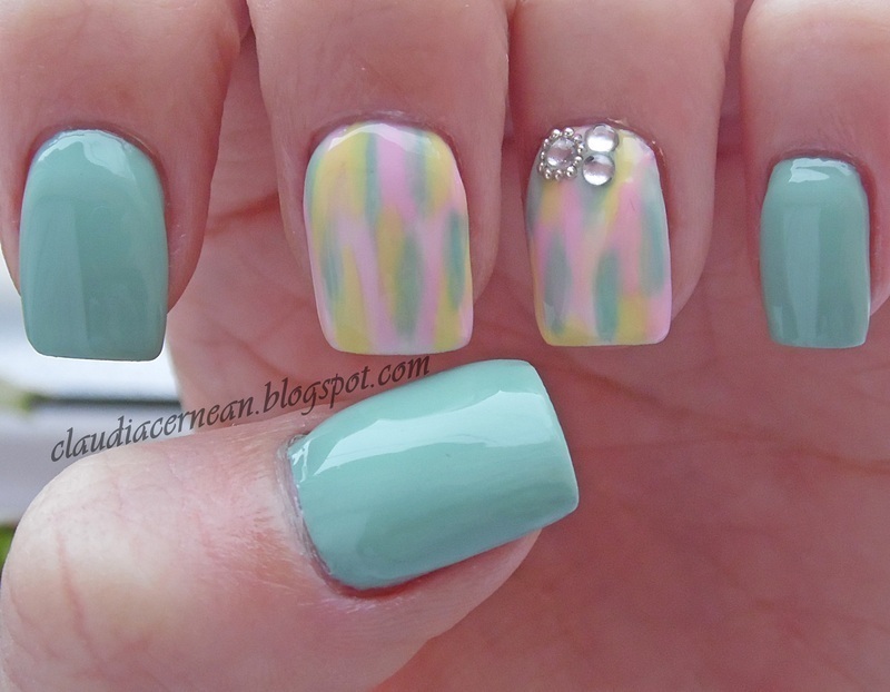 Pastel Nails nail art by Claudia
