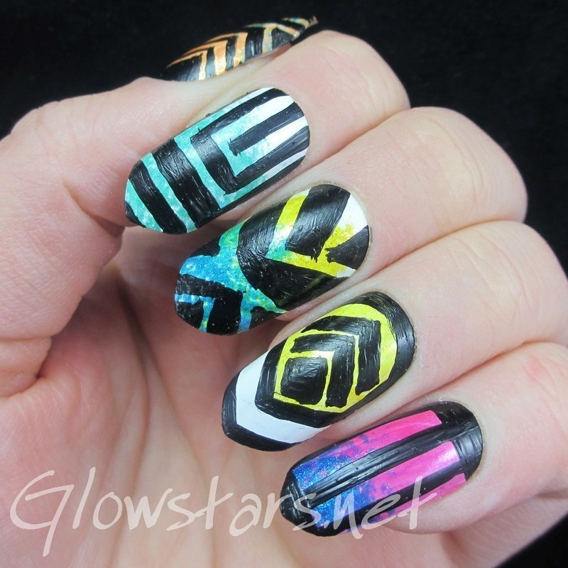 Baby that's a case of my wishful thinking nail art by Vic 'Glowstars' Pires