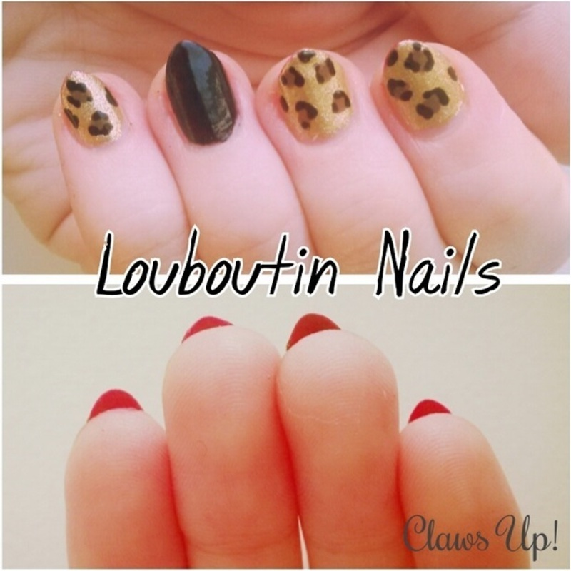 Louboutin nail art by Jacquie