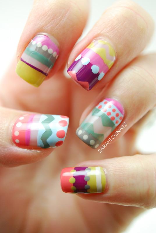 iPhone Case Nails! nail art by Sarah S