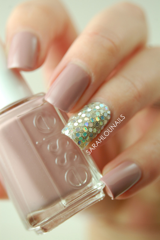 Glitter Accent Nail! nail art by Sarah S
