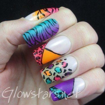A singular definition of what it's supposed to be like nail art by Vic 'Glowstars' Pires