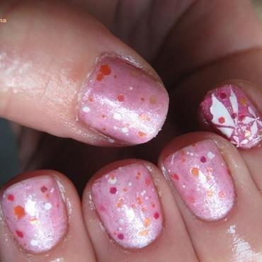 we love butterflyes nail art by Frumusetelapretmic