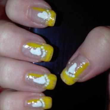 baby foot nail art by Frumusetelapretmic