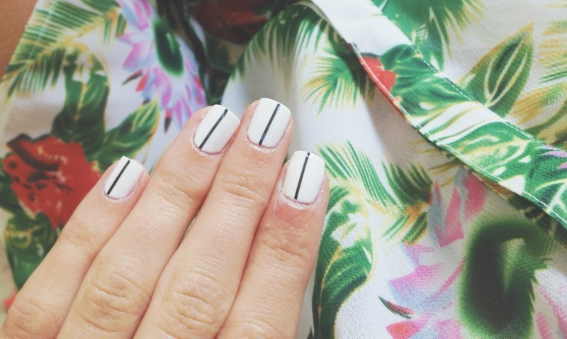 Classy nails nail art by Madison Hudgens