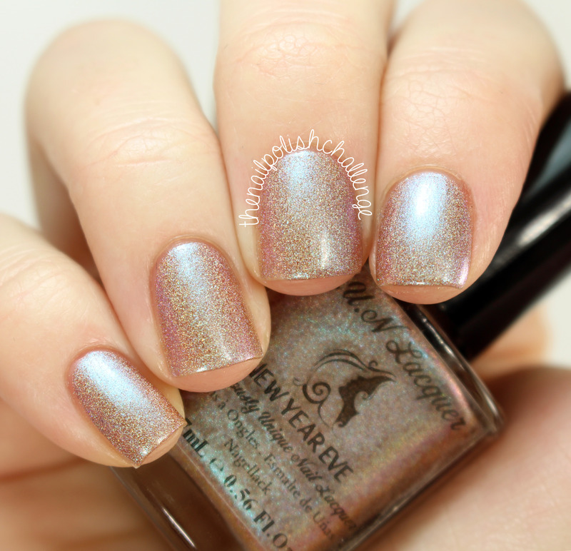 FUN Lacquer New Year Eve nail art by Kelli Dobrin - Nailpolis ...