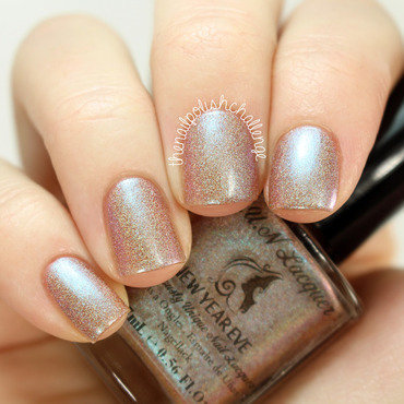 FUN Lacquer New Year Eve nail art by Kelli Dobrin