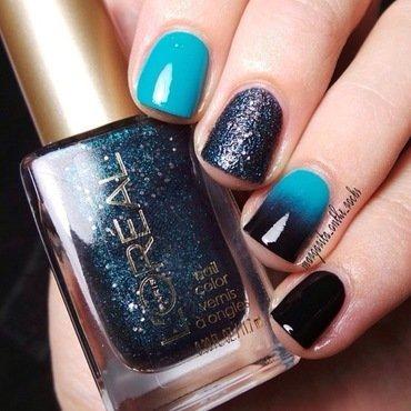 L'oreal Gems nail art by Gari