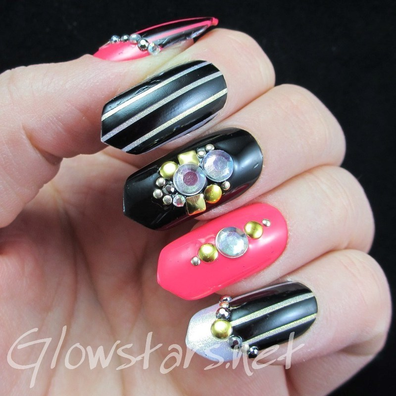 I thought of the boy no-one could ever forget nail art by Vic 'Glowstars' Pires