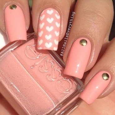 Simple Sweetness nail art by All Nails Everything