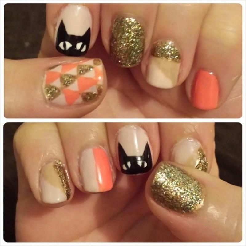 Mix-n-Match nail art by Marisa