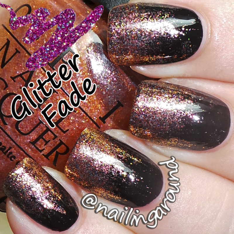 Wah Book 1 Glitter Fade Nail Art By Belinda Nailpolis Museum Of