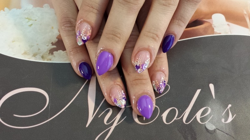 Egglettos  nail art by Lady NyCole