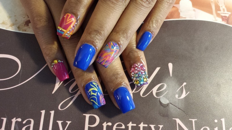 It's My Birthday  nail art by Lady NyCole