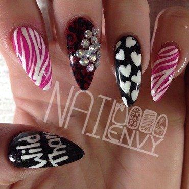 Wild Thang!   nail art by Rachel