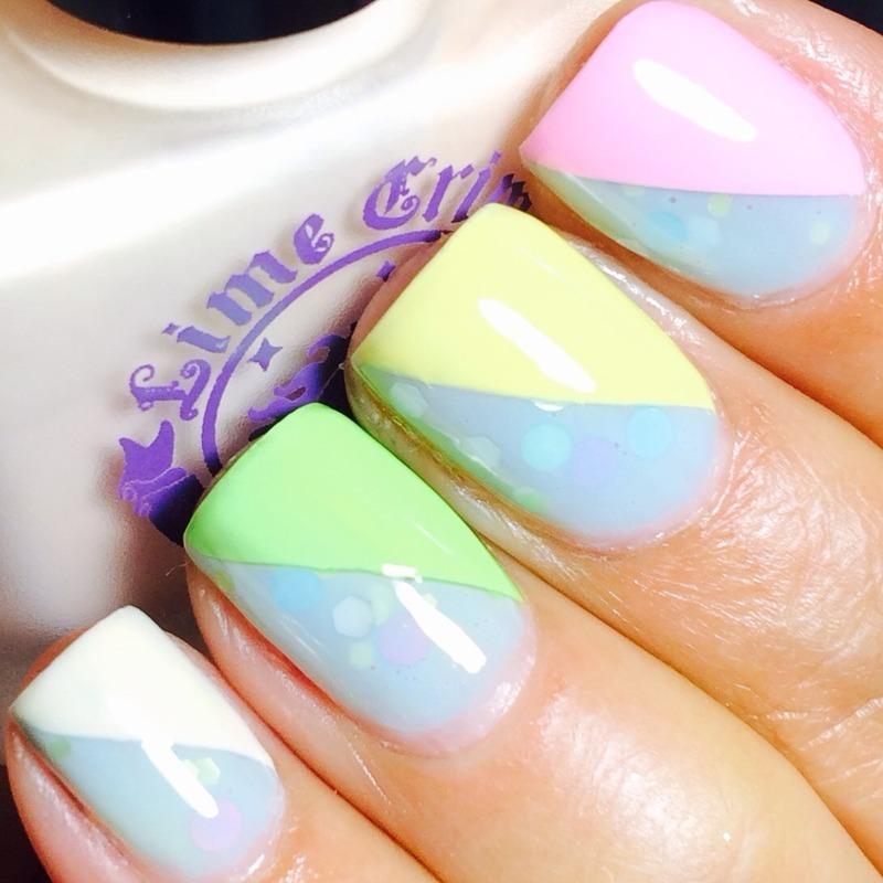 Taste The Rainbow nail art by @bdettenails