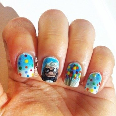 Up by Pixar  nail art by Ducky_npa (Lili)