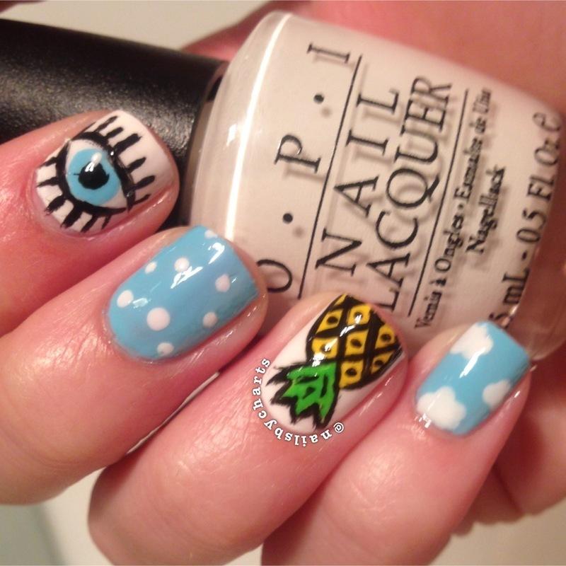 mixing it up nail art by Claudia
