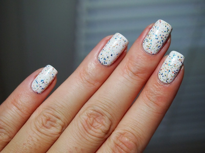Confetti Game nail art by Alicja