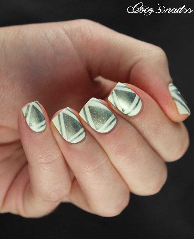 Triangle nail art - Triangle Nail Art Nail Art By Cocosnailss - Nailpolis: Museum Of