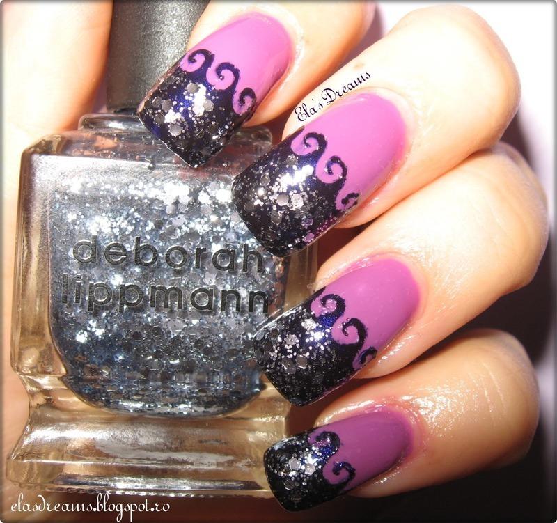 Wave Nails nail art by Ela's Dreams