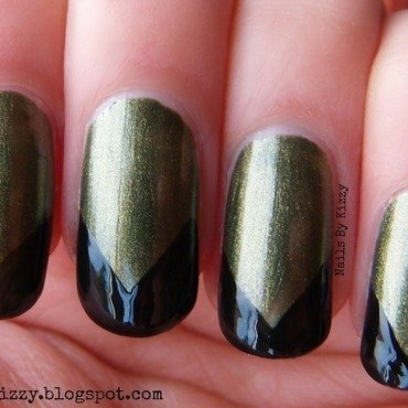 Arrow inspired Nails nail art by Kizzy