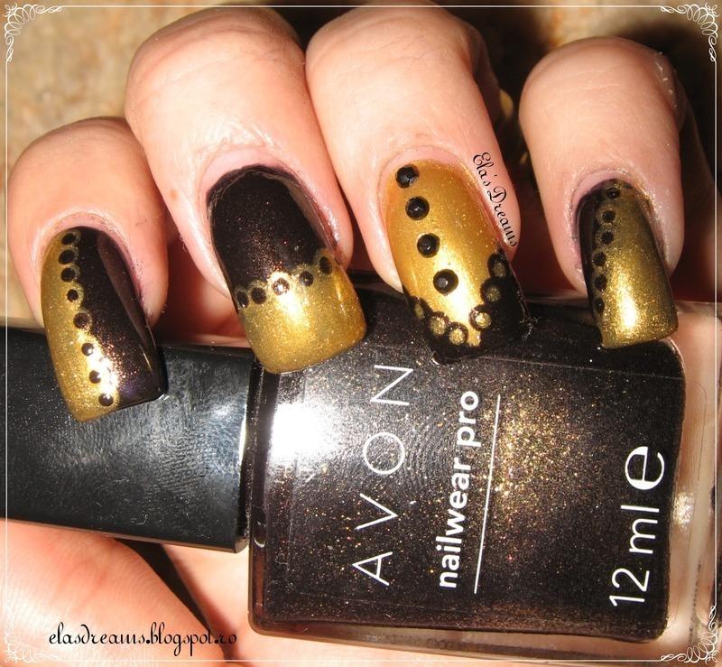 Doily Nails nail art by Ela's Dreams
