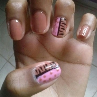 Naked pink and zebra stripes thumb370f