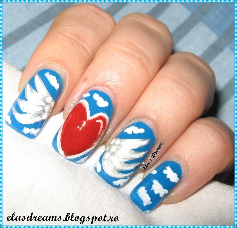 The Unreachable Love nail art by Ela's Dreams