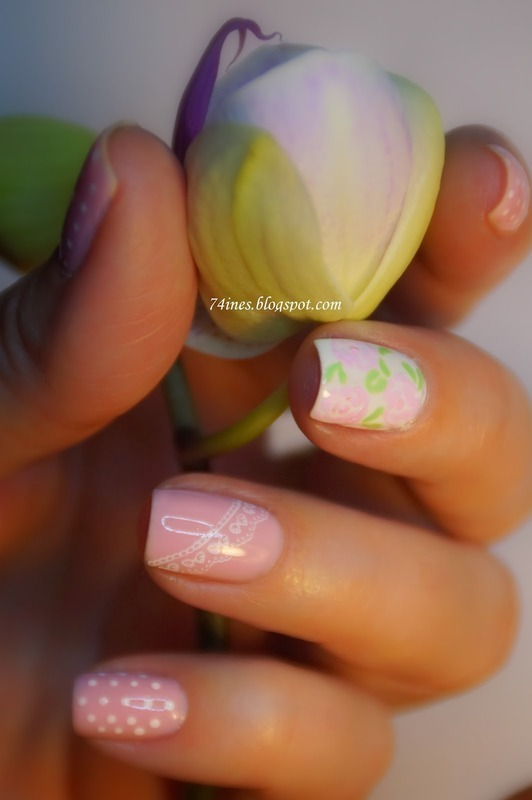 Dream nail art by 74ines