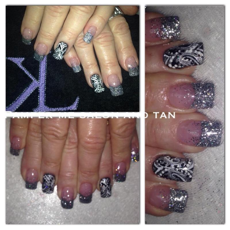 Filigree  nail art by KaCee