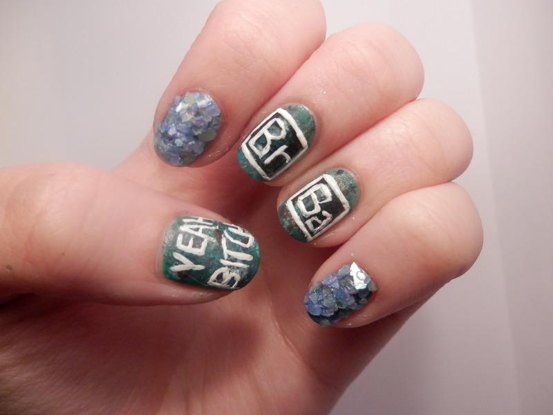 Breaking Bad Nail Art nail art by Enni