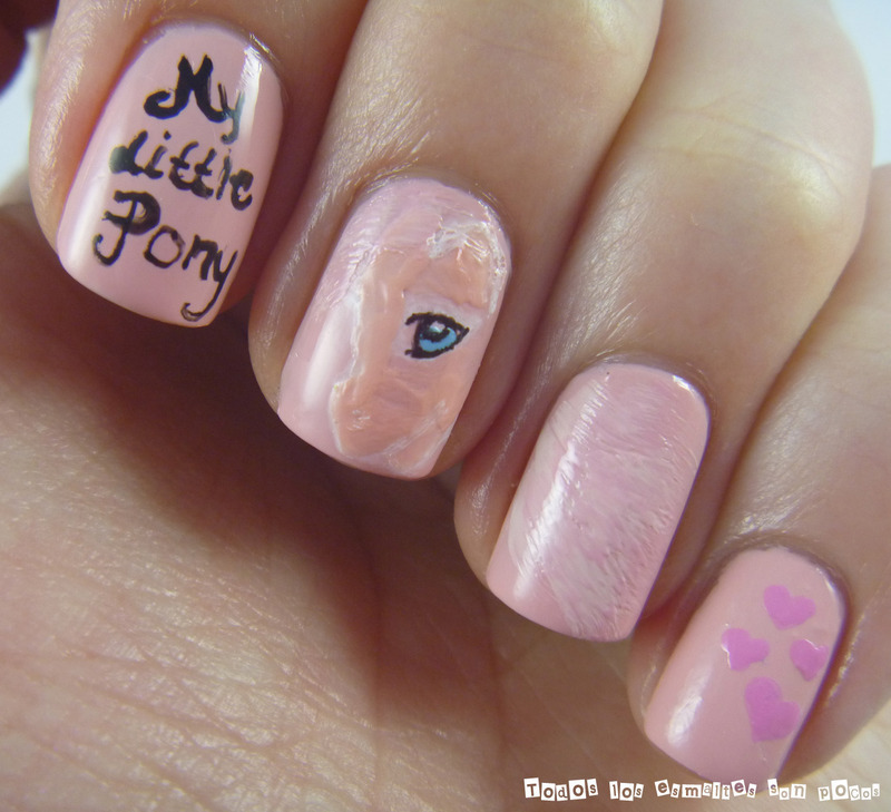 My little Pony nail art by Maria