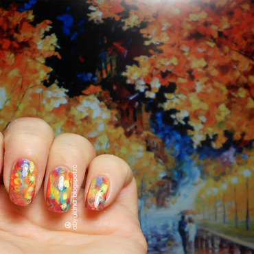 Inspired by Art - Leonid Afremov nail art by Aby
