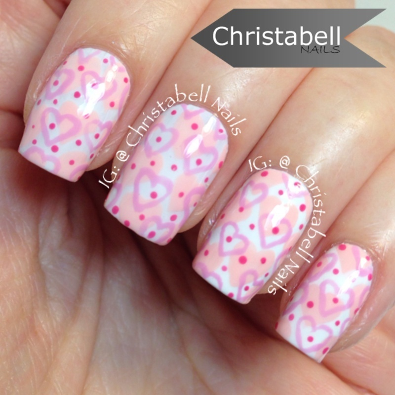 ChristabellNails Love Sick nail art by Christabell