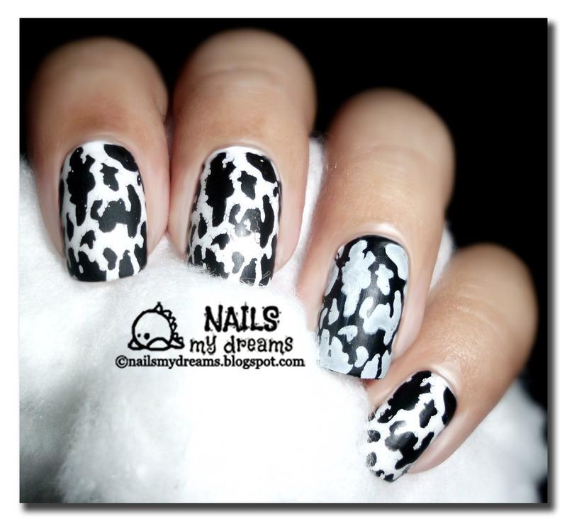 Moo Nails nail art by Kat of NailsMyDreams