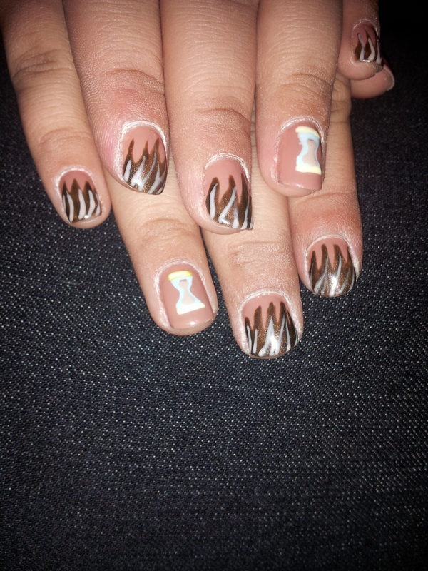 Dr. hooves nails nail art by Laura