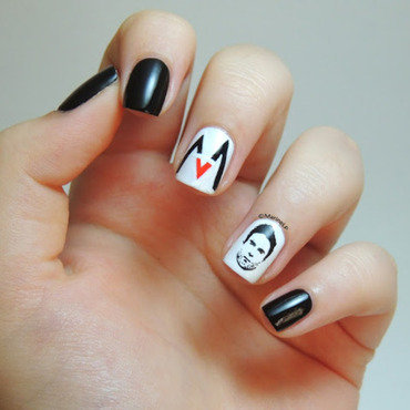 Maroon 5 feat. Adam Levine manicure nail art by Marine Loves Polish