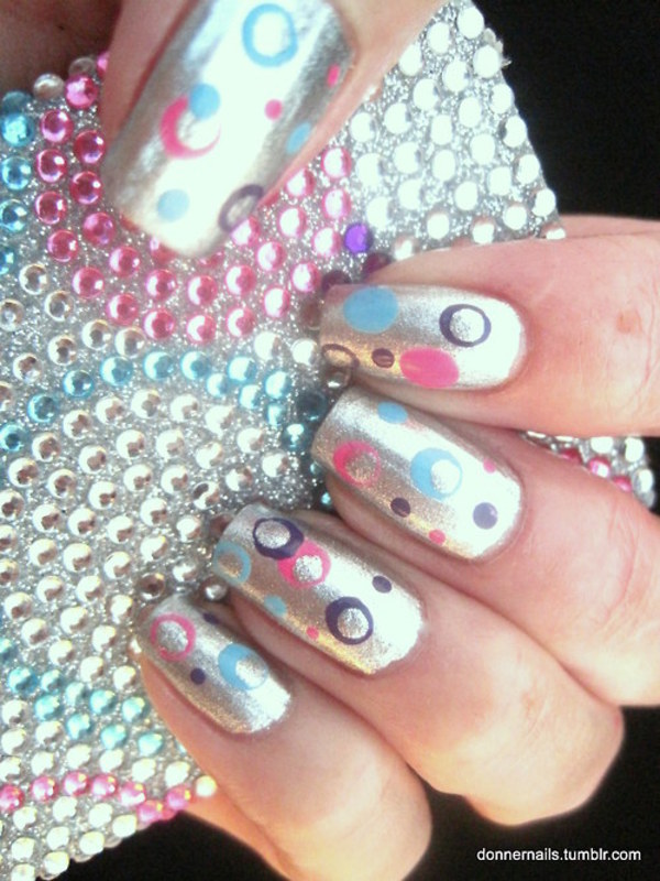 Cell Phone Cover Inspired! nail art by Donner
