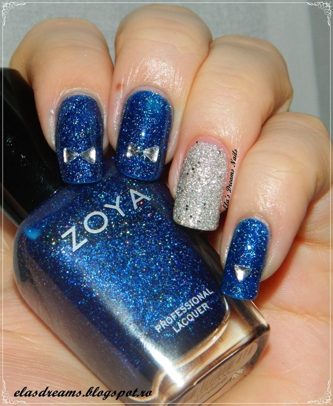 ZOYA DREAM nail art by Ela's Dreams