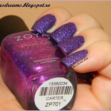 Zoya Carter nail art by Ela's Dreams