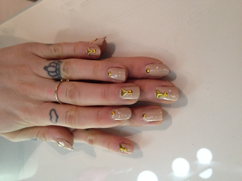 Classic  nail art by Pimp Your Nails