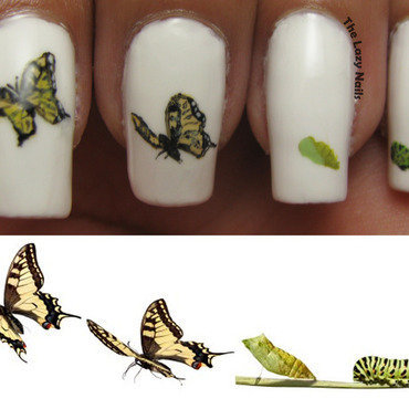 Reinvention nail art by Hadas Drukker