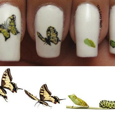 Reinvention nail art by Hadas Drukker