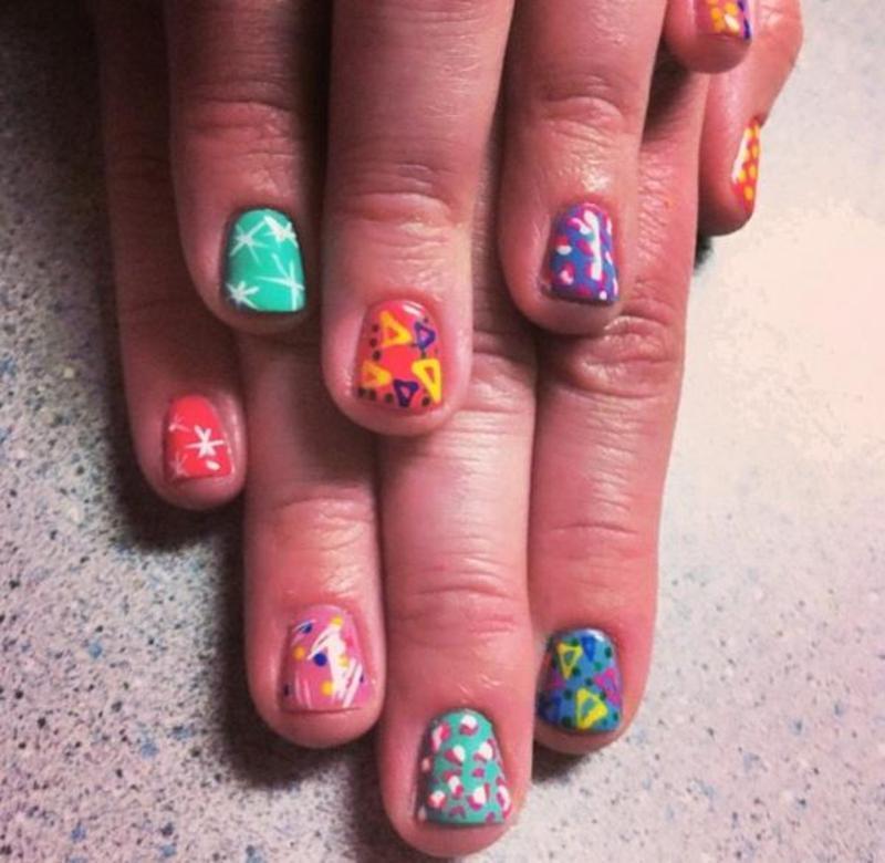 Random nail art by Hause of Nails