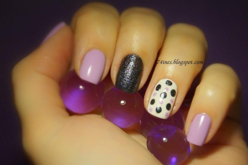 Dots nail art by 74ines